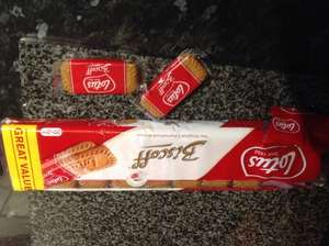 The world's finest biscuits, Biscoff Lotus Caramelised 20 x2 pack £1 @ Poundland