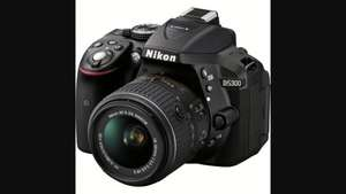 Nikon D5300 Digital SLR With 18-55mm VR II Lens  £325 with WiFi & GPS connectivity@ Portus Digital