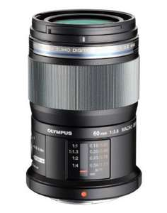 Olympus 60mm f2.8 macro lens. £228.27 with olympus rebate