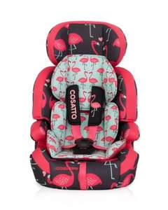 Cosatto zoomi 123 car seat Flamingo Fling £79.99 @ Amazon