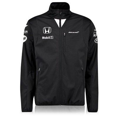 McLaren Honda Team Softshell Jacket Male Black £35 @ mclarenstore