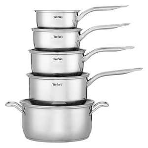 Tefal Intuition 5 piece pan set £60.00 @ Tesco Direct