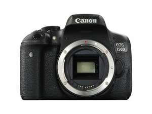 Canon 750D DSLR Body only £419 @ Amazon (Lightning Deal) (£319 after cashback!)