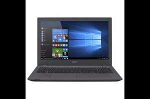 "New Acer E5-573, 15.6"" Laptop Intel i3, 4GB, 1TB, USB 3.0x2, HDMI, DVDRW+, Bluetooth, Webcam, Windows 10 - Grey now £259.00 @ Tesco Direct (Free CnC)"