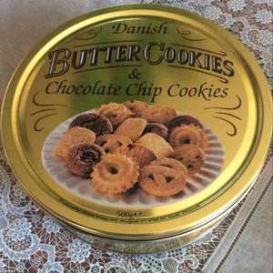 Danish Butter Cookies 500g found at Sainsburys at £1.25