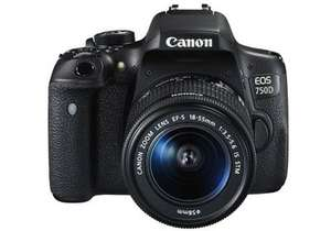 Canon EOS 750D with EF-S 18-135mm f/3.5-5.6 IS STM Kit £539.00 @ Digital Rev