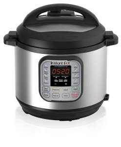 Instant Pot Duo 7-in-1 Electric Pressure Cooker, 6 Litre, 1000 W, Brushed Stainless Steel/Black Amazon £85.99