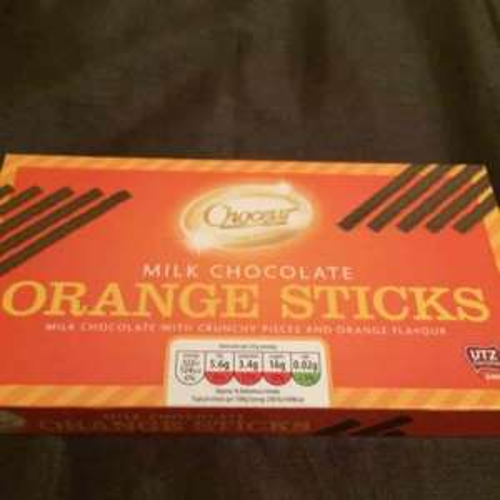 Aldi chocolate orange sticks 39p