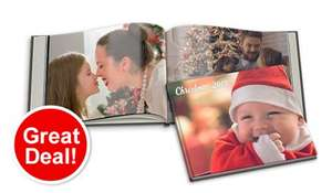 100 pages Large Photobook + Picture Hardback £19 Delivered @ BonusPrint