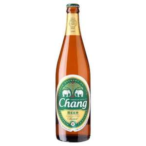Chang beer 640ml (the big one!) for £1.25 a bottle at Tesco