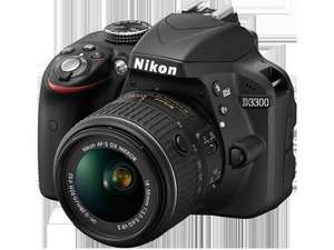 Nikon D3300 DSLR Camera With 18-55mm Lens, £279.99 from argos