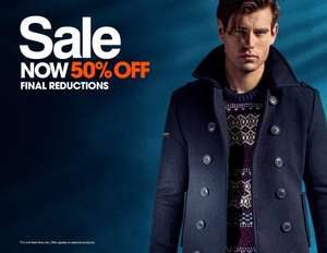 50% off all sale items at Superdry + Free Delivery / Returns