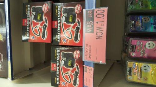 Auto Tech Air Compressor 12v £1 @ B&M Instore