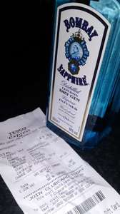 Bombay Sapphire  50cl gin £7.57 in store @ Tesco Express Wycombe