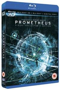 Prometheus 3D Blu-Ray (3-disc collector's edition) £5.99 Instore at That's Enterainment or £6.65 at musicmagpie