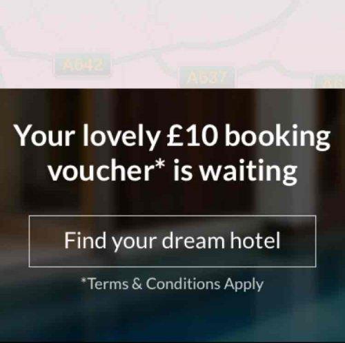Free £10 voucher when downloading App @ LateRoom.com