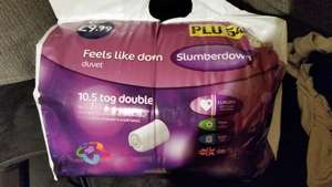 Slumberdown Feels Like Down 10.5 Tog Double Duvet PLU54079 Was £9.99 NOW £1.99 @ Aldi (Manchester)