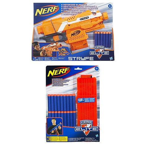 Nerf N-Strike Elite Stryfe Blaster & 18 Dart Clip Pack £19.99 at John Lewis