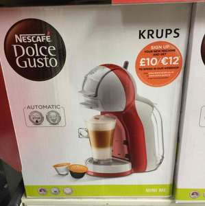 Nescafé dolce gusto reduced to £40 from £100 instore at Sainsbury's