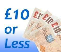 Everything £10 or less @ Blue Inc instore