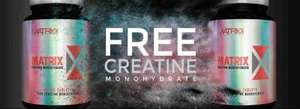 Free CREATINE just pay postage (£3.99) @ supplementcentre
