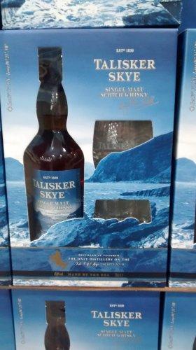 Costco: Talisker Skye Gift pack, Single malt scotch whisky 45.9% 70cl £28.78