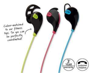 Bluetooth Sports Headphones with Handsfree - 3 Year Warranty £7.99 @ Aldi (from 3rd Jan)
