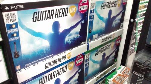Guitar Hero Live (Game + Guitar bundle) PS3/X360 £29.99 Instore @ HMV