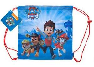 PAW PATROL FANS! 50% off Gym Bag £4.99 Sold by Harriet's Toys and Fulfilled by Amazon (add on item / £20 spend)