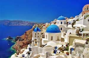 14 night trip including 12 nights around The Cyclades (Greece) including Santorini and 2 nights in Rome for £350pp with flights, ferries and hotels @Venere