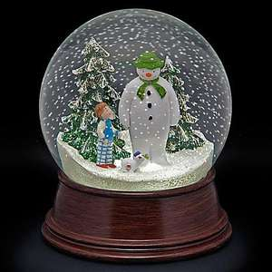 The Snowman & Snowdog Musical Snow Globe @ The Range