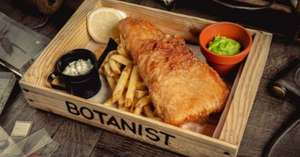 50% off food at the Botanist and The Alchemist January 2nd-31st