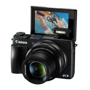 Canon PowerShot G1X Mark II £404.00 @ Amazon (Lightning Deal) £344 After Double Cashback