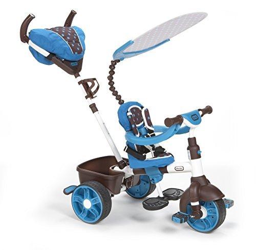 Little Tikes 4-in-1 Sports Edition Trike (Blue/ White) Amazon Warehouse Deals