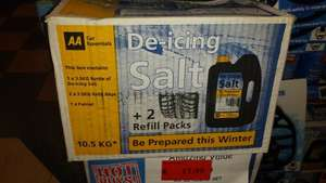 AA 10.5Kg de-icing salt set £1.49 at Family Bargains (Burton)