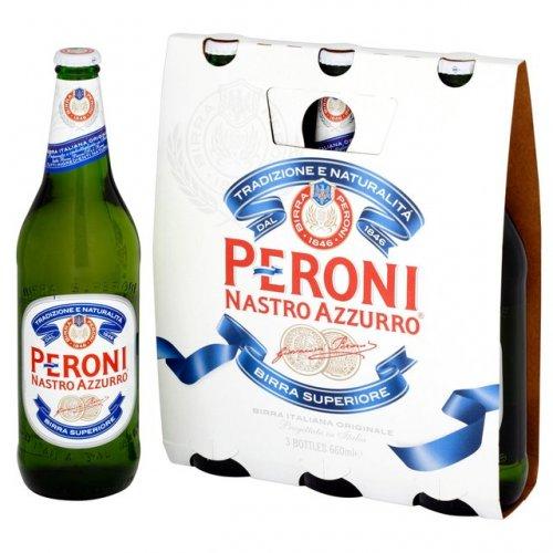 Peroni Bottles 620ml x 3 £7 or 2 for £4 OCADO (67p bottle)