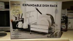 SABATIER EXPANDABLE DISH RACK £19.99 @ Costco Hayes