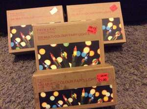 Fairy lights only £1 in Primark