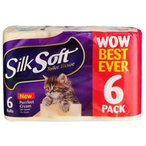 Poundland Toilet Roll 9 Pack For £1 (Silk Soft)