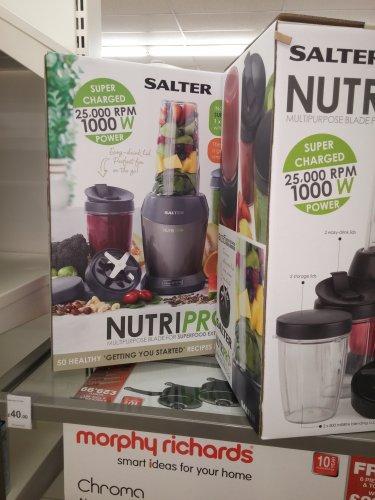 Salter Nutri Pro Red at wilko.com £40 (Instore)