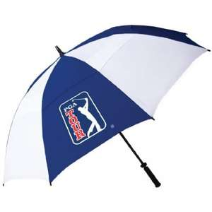 PGA Tour 62-Inch Windproof Golf Umbrella £5 (add-on item) @ Amazon/ or C&C @ Tesco Direct