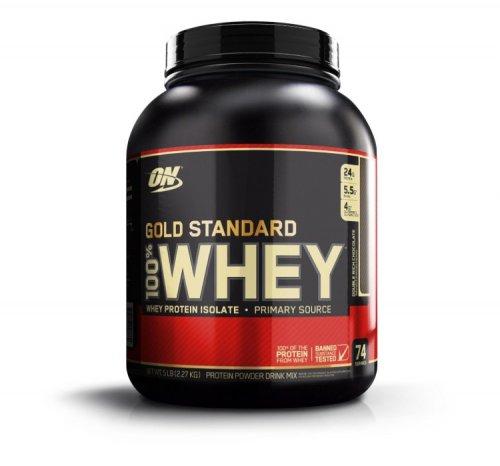 Optimum Nutrition Gold Standard 100% Whey Double Rich Chocolate Protein Powder 2.27kg £28.99 @ Amazon