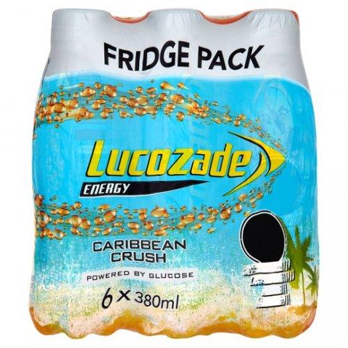 6 pack lucozade caribbean crush  £1 @ poundland