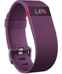 Fitbit Charge HR black and plum, small and large for £79.99 @ argos