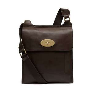 Mulberry Antony Messenger Bag large version (was £595) 30% OFF now £416.50 @ MrPorter