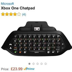 Official Xbox One Chat Pad £23.99 @ Amazon
