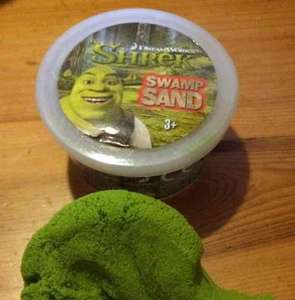 swamp (kinetic) sand - £1 @ poundland