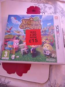 Animal Crossing: New Leaf 3DS £15 @ Asda in store only