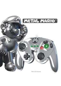Metal Mario PDP Wii U Controller £15.99 @ Base (inc Free Delivery)