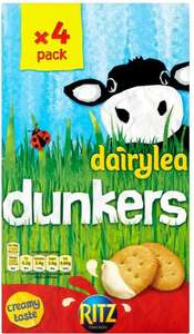 Dairylea Ritz Dunkers (4 x 46g) was £2.24 now £1.00 @ Morrisons